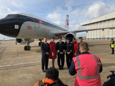 British Airways BEA livery repaint launch