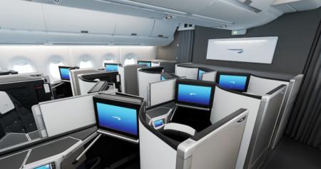 British Airways Club Suite cabin