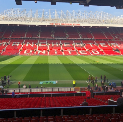 Marriott Bonvoy Manchester United partnership hospitality