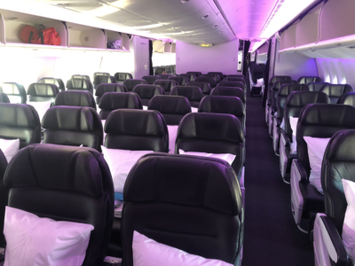 Air New Zealand premium economy review