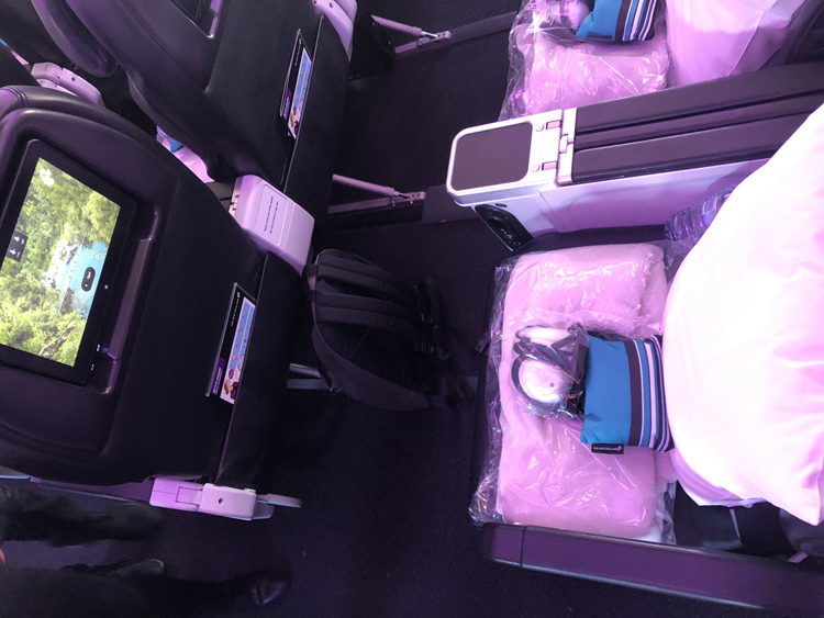 Air New Zealand premium economy review