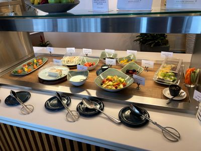 Review Malaysia Airlines lounge at London Heathrow airport
