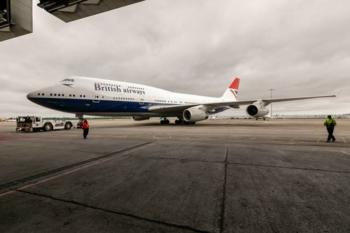 British Airways Negus livery