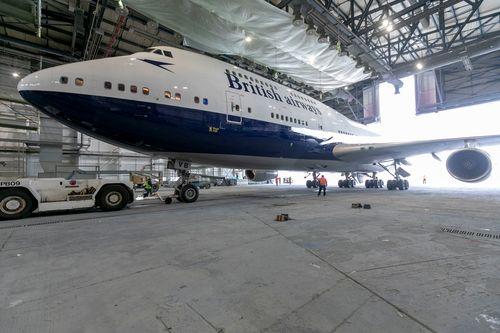 British Airways Boeing 747 Cotswold Airport Kemble