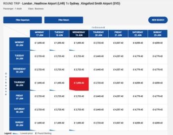Air China sale deals
