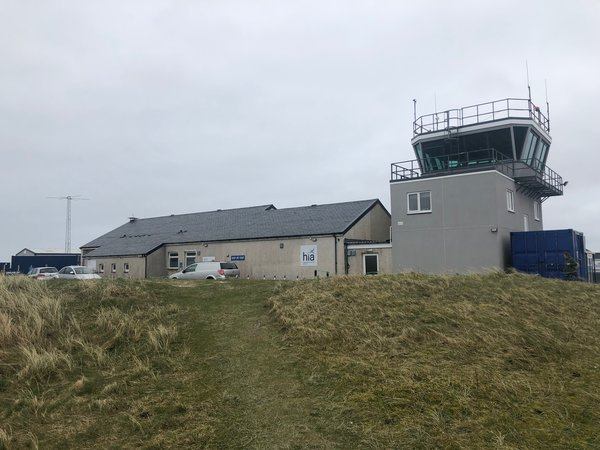 Flying to Barra in the Outer Hebrides