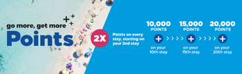 Hilton Go More Get More promotion Summer 2019 double points