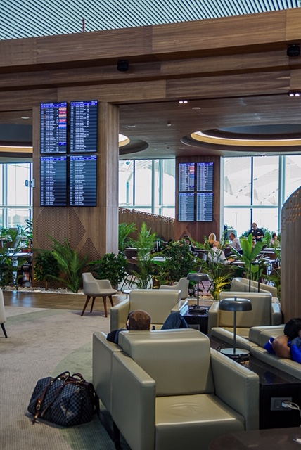 Istanbul airport IAG lounge review