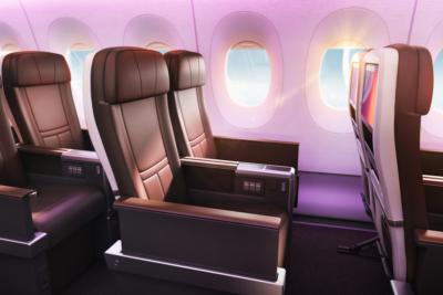 Virgin Atlantic A350 Premium seat