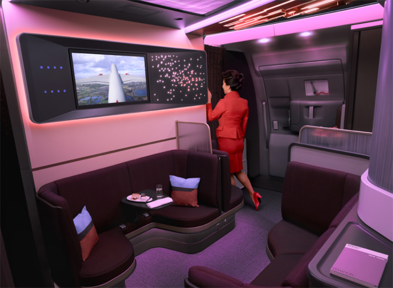 Virgin Atlantic The Loft A350