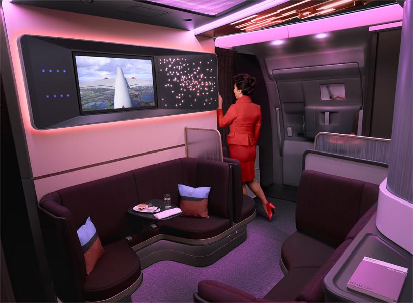 Virgin Atlantic The Loft A350