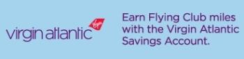 Virgin Atlantic Flying Club 1-Year Savings Account