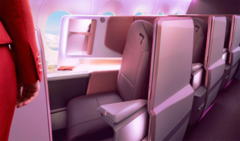 Virgin Atlantic upper class suite sale