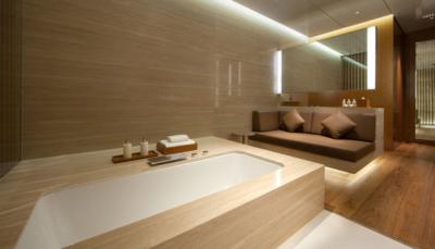 The Wing First Class lounge cabana hong kong