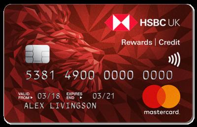 HSBC Rewards credit card