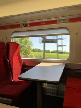 LNER Azuma train seat