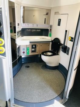LNER Azuma train toilet