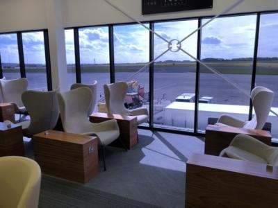 Leeds Bradford Airport 1432 Runway Club seating
