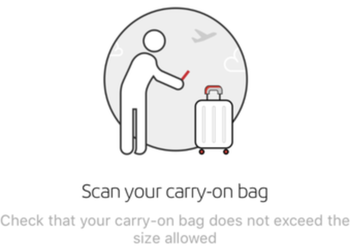 Iberia launches luggage scanning app