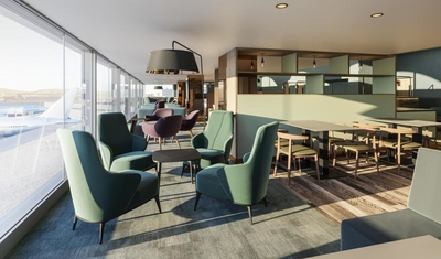 Lomond Lounge Glasgow Airport to reopen