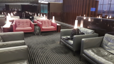 The Wing First Class lounge Hong Kong airport review
