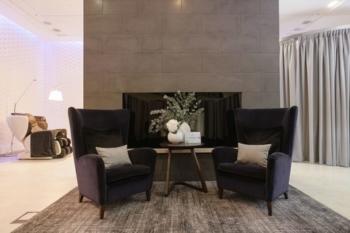 BA Elemis Spa Heathrow unveils Kelly Hoppen new soft furnishings