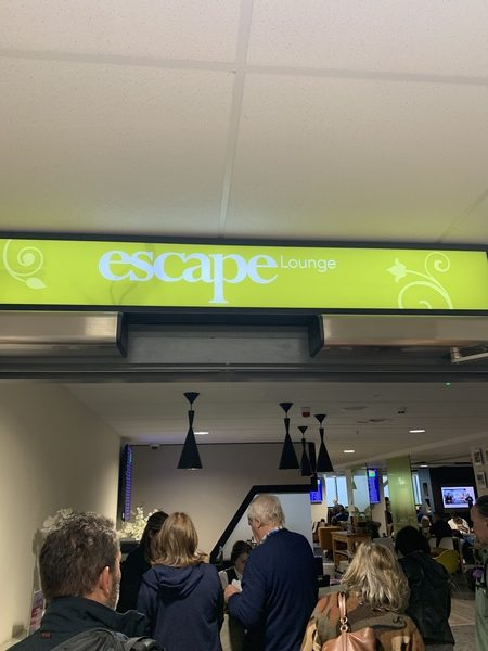 Manchester Terminal 2 Escape Lounge review
