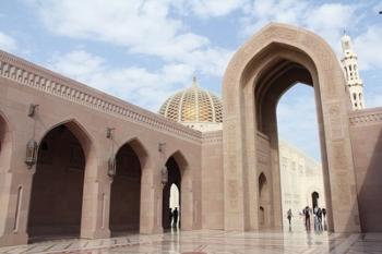 oman stock photo muscat mosque