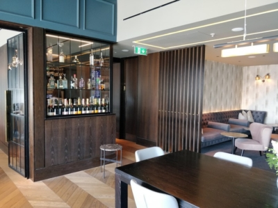 Review Clubrooms lounge Birmingham Airport
