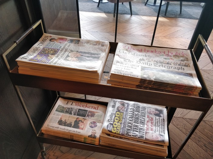 Birmingham Clubrooms newspapers