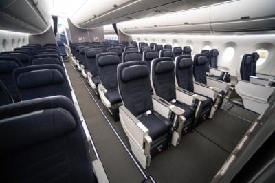 British Airways A350 World Traveller Plus
