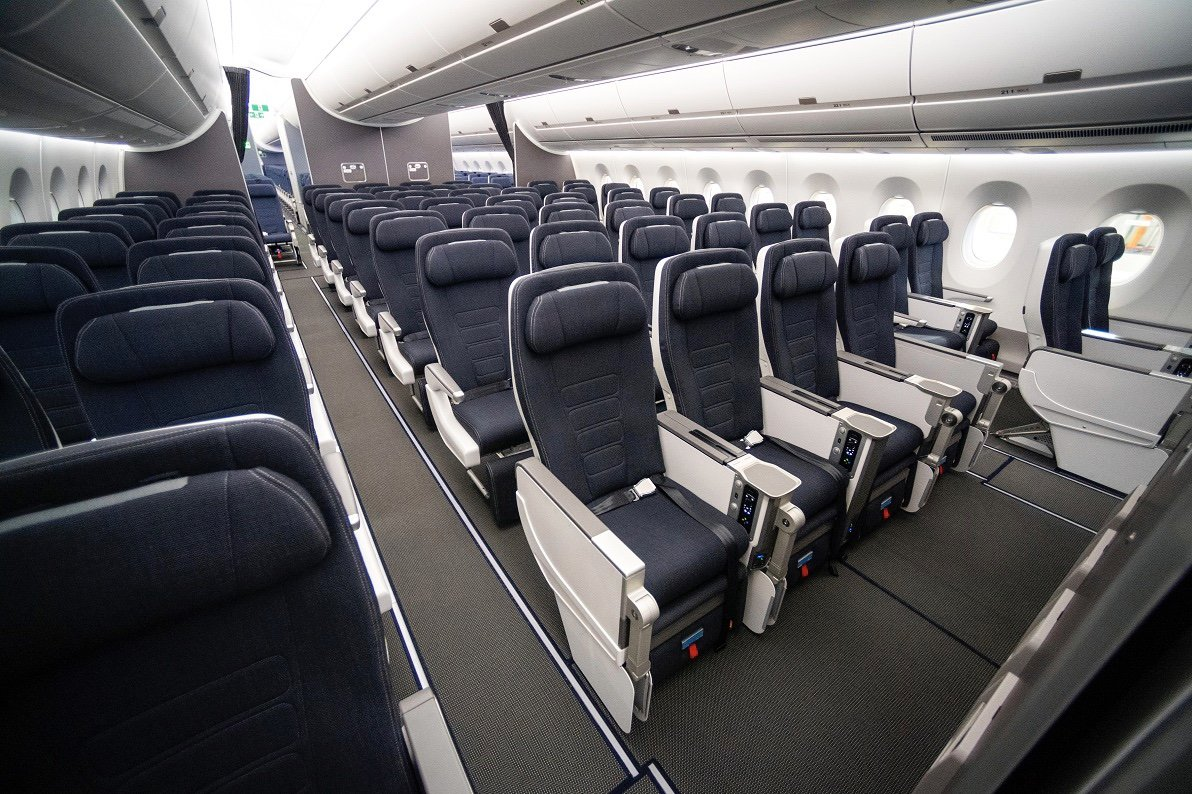 First interior shots of BA's new A350, including Club Suite