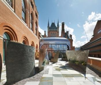 Renaissance St Pancras Hansom Hall garden outdoors