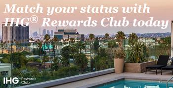IHG Rewards Club status match