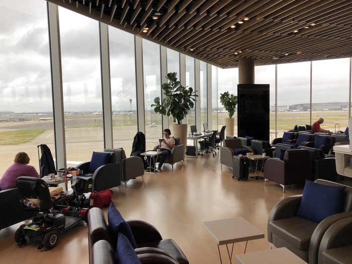Malaysia Airlines Golden Lounge Heathrow