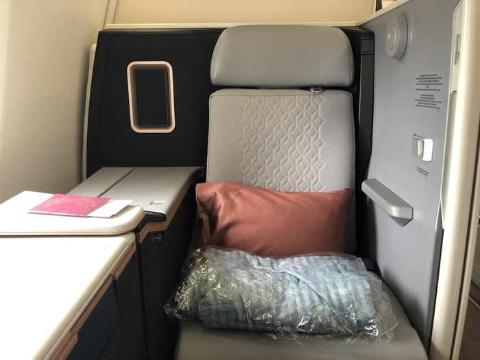 Malaysia Airlines Business Suite A350 review seat