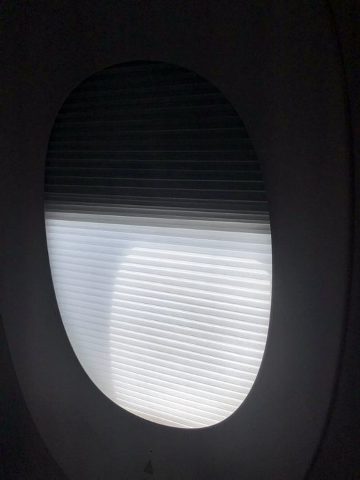 Malaysia Airlines Business Suite A350 review window shade
