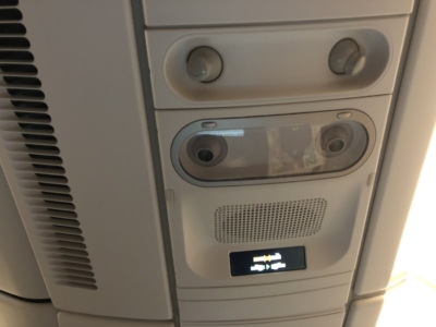 Malaysia Airlines Business Suite A350 review air vents