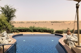 Marriott Al Maha Desert Resort Dubai private pool