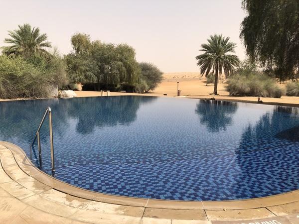 Marriott Al Maha Desert Resort Dubai main pool
