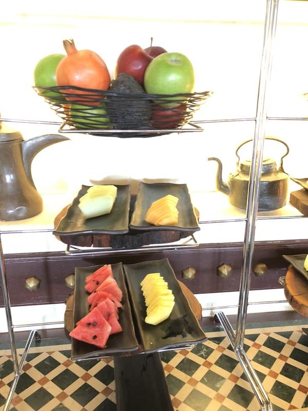 Marriott Al Maha Desert Resort Dubai snacks