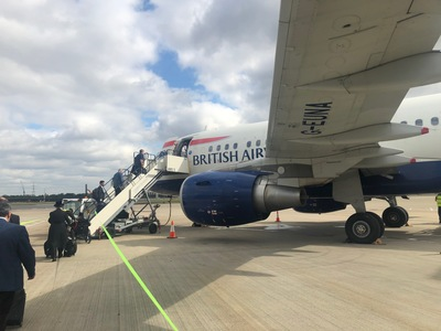Review British Airways Club World BA1 London City to New York JFK