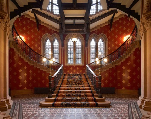 Renaissance St Pancras spice girls stairs