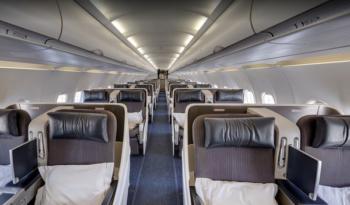 BA1 A318 interior view