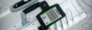 British Airways digital bag tag