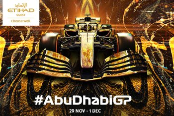 Abu Dhabi Grand Prix packages Etihad