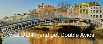 Double Avios on Aer Lingus to Dublin