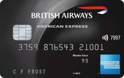 British Airways Premium Plus American Express