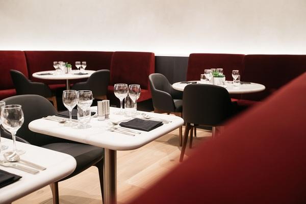 British Airways San Francisco Lounge First Dining room