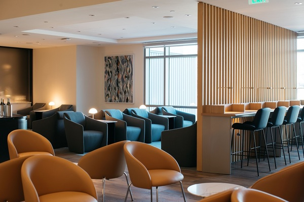 British Airways San Francisco Lounge